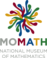 Officicial MoMath Logo Website